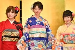 岡田奈々、瀧野由美子、森香穂 (C)モデルプレス
