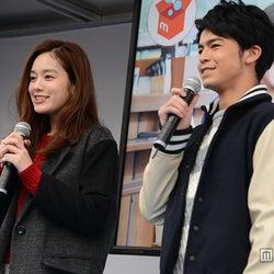 トークショーの様子/筧美和子、菅谷哲也