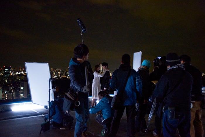 ピリッと張り詰めた空気の中、撮影が進む/映画『闇金ウシジマくん3』撮影メイキングショット