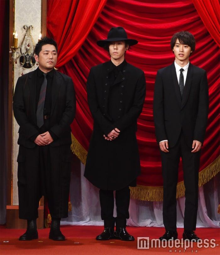 篠原篤、野田洋次郎、山崎賢人(C)モデルプレス