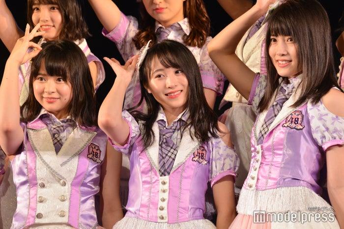 倉野尾成美、坂口渚沙、岡部麟/AKB48チーム8「その雫は、未来へと繋がる虹になる。」公演 (C)モデルプレス