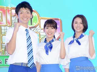 TBS新人アナ、報道陣の前で初仕事 人生初の食リポにも挑戦
