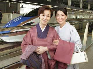 北陸新幹線で初のドラマロケを実施『花嫁のれん』最終話に登場
