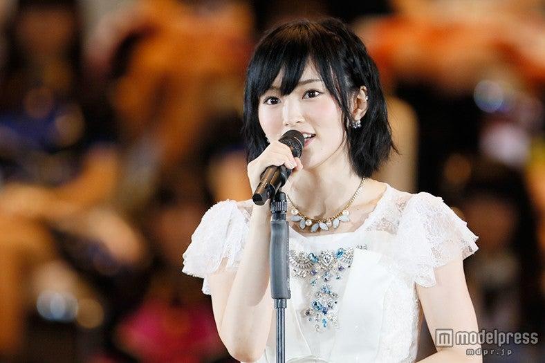 1位宣言のNMB48山本彩、結果は?「プレッシャーもすごく大きかった」<第7回AKB48選抜総選挙>(C)AKS【モデルプレス】