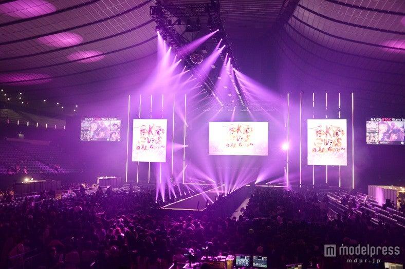 「東京ガールズコレクション2015A/W」来場者数発表/会場の様子【モデルプレス】