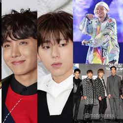 リル・ナズ・X、J-HOPE(BTS)、ZICO/photo by Getty Images、DA PUMP、三代目 J SOUL BROTHERS from EXILE TRIBE(C)モデルプレス