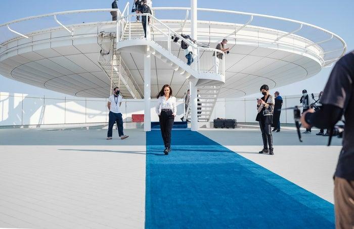 ジェシカ・アルバ/画像提供:ドバイ政府観光・商務局