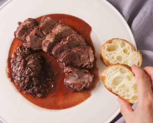 「ぶどうと豚肉のオーブン焼き」河井美歩さんのレシピ【旬を味わう華やかデリおかず #17 】