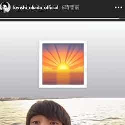 モデルプレス - 岡田健史、ヒゲ姿披露 ワイルドなギャップに「色気すごい」「大人っぽさ増した」と反響