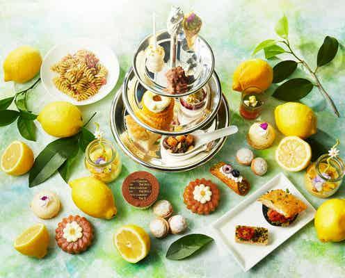 """""""南イタリアの夏""""イメージのブッフェ「サマー ドルチェ リモーネ」レモンやピスタチオの夏スイーツ"""