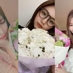 """モデルプレス - 川後陽菜、岡本莉音ら母に贈った""""花言葉""""は?まだ間に合う「母の月」に反響"""