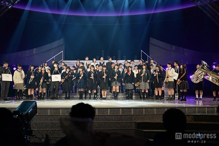 関ジャニ∞、高校生とコラボ※写真はリハーサル時に撮影【モデルプレス】