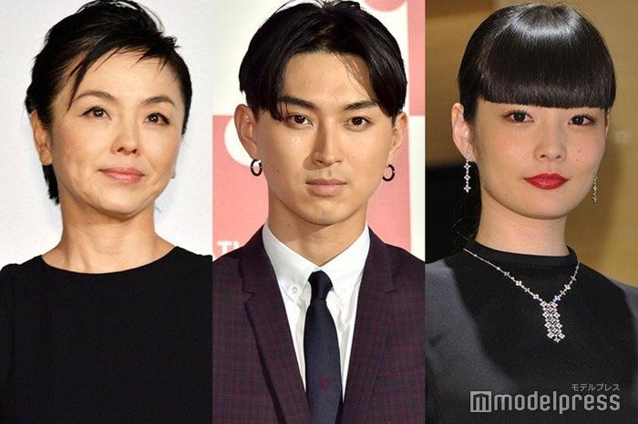 松田美由紀、秋元梢、松田翔太 (C)モデルプレス