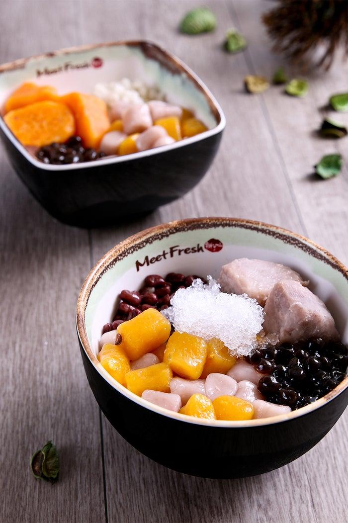 日本の甘味のような安心感のある甘さ/画像提供:MeetFresh 鮮芋仙
