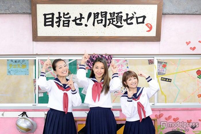 (左から)三船美佳、鈴木紗理奈、矢口真里