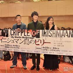(左から)柄本時生、古川雄輝、鈴木杏(C)モデルプレス
