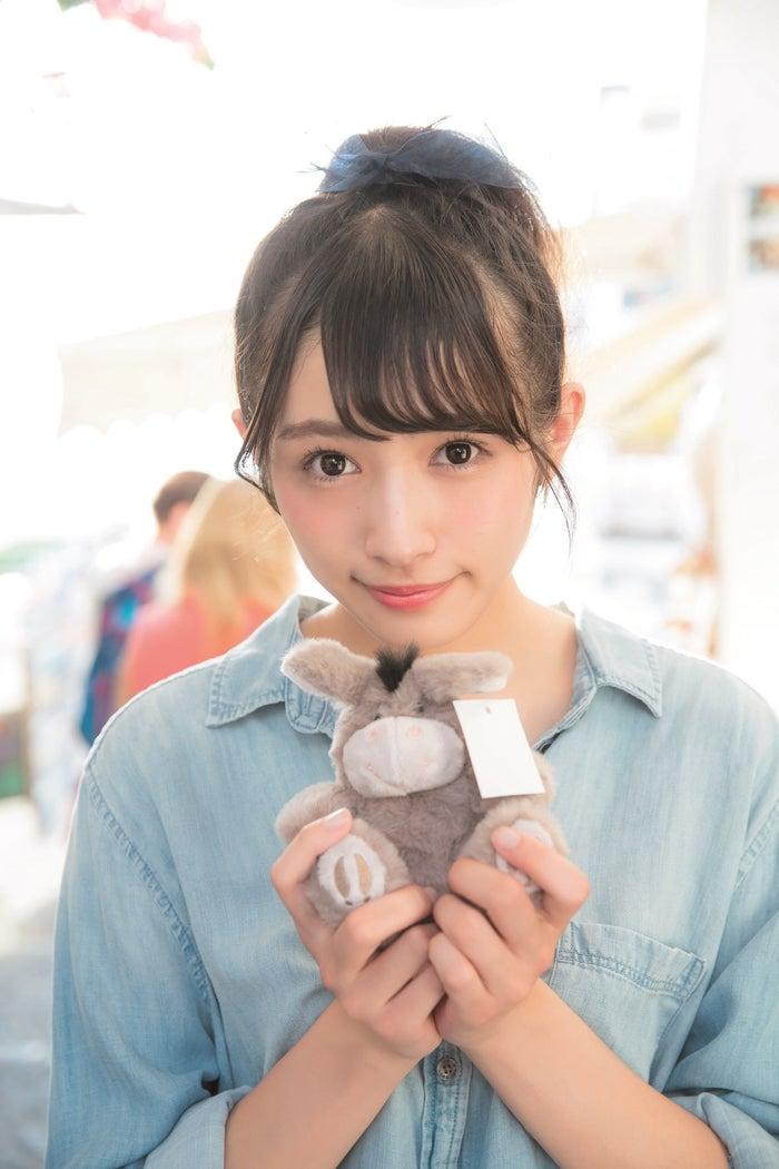 渡辺梨加/写真集「饒舌な眼差し」(C)阿部ちづる/集英社
