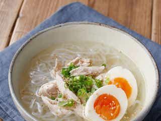 【リセットご飯】しらたきでカロリーオフ。鶏だし塩ラーメン