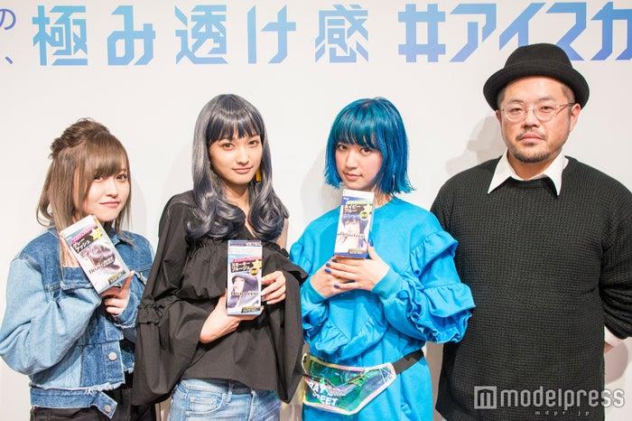(左から)歩乃華、安井レイREI、福田京平氏(C)モデルプレス