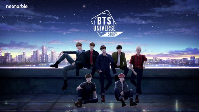 "BTSの""未来""はあなたの手に?ファン待望の「BTS Universe Story」世界同時リリース<br> (c) Big Hit Entertainment. (c) Netmarble Corp. &amp; Netmarble Monster Inc. 2020 All Rights Reserved."