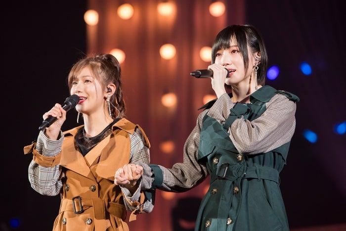 谷川愛梨、太田夢莉(C)NMB48