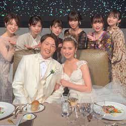 モデルプレス - 衛藤美彩、源田壮亮選手との挙式を報告 乃木坂46・OGメンバーも集結