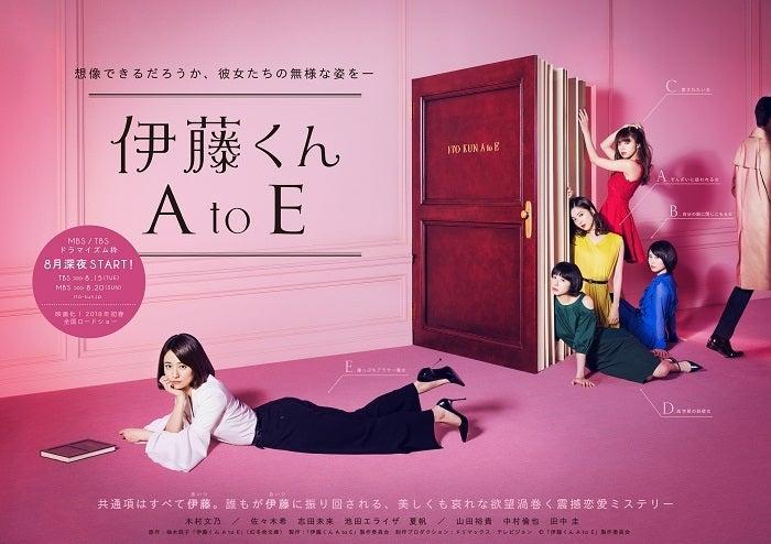 ドラマビジュアル(C)「伊藤くん A to E」製作委員会 制作プロダクション:ドリマックス・テレビジョン