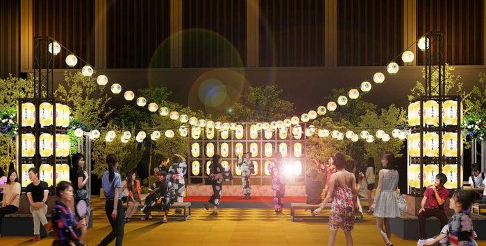 「アートアクアリウム夏祭り」会場イメージ/画像提供:アートアクアリウム実行委員会