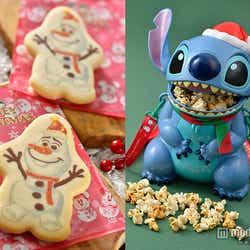 モデルプレス - ディズニークリスマス、一足お先にフードやグッズをチェック ミッキーもオラフもスティッチもサンタ風!<写真特集>