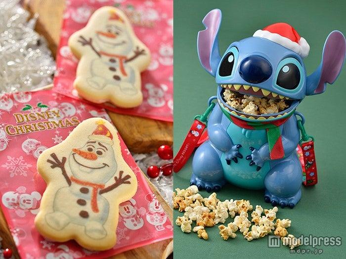 ディズニークリスマス、一足お先にフードやグッズをチェック ミッキーもオラフもスティッチもサンタ風!<写真特集>(C)Disney【モデルプレス】