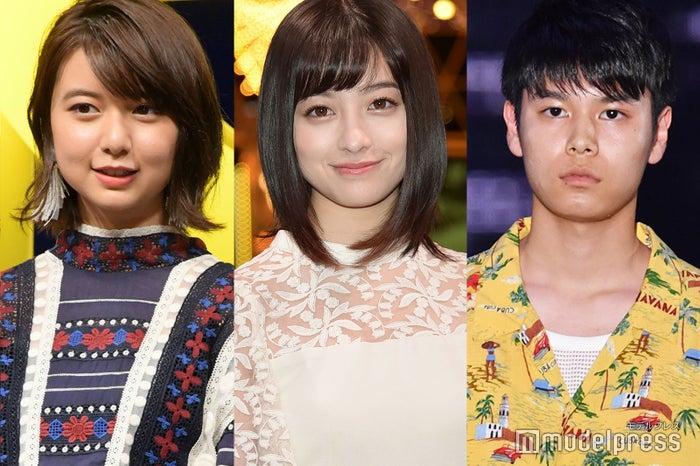 (左から)上白石萌歌、橋本環奈、萩原利久(C)モデルプレス