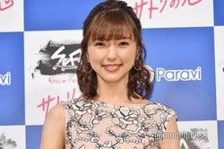 真野恵里菜、柴崎岳と結婚後初の公の場 今後の活動に言及