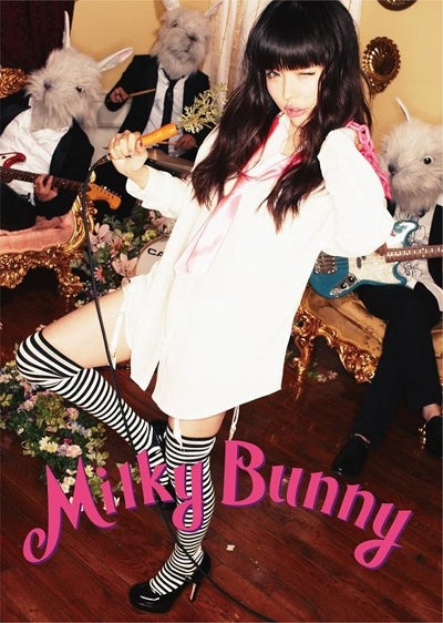Milky Bunny1stアルバム「Milky Bunny」(初回限定盤)2012年3月21日発売