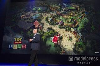 ディズニー、「トイ・ストーリーランド」誕生 新アトラクション情報も<「D23」現地レポ2日目>