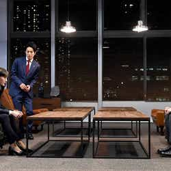 綾瀬はるか、溝端淳平、高橋一生「天国と地獄 ~サイコな2人~」第8話より(C)TBS