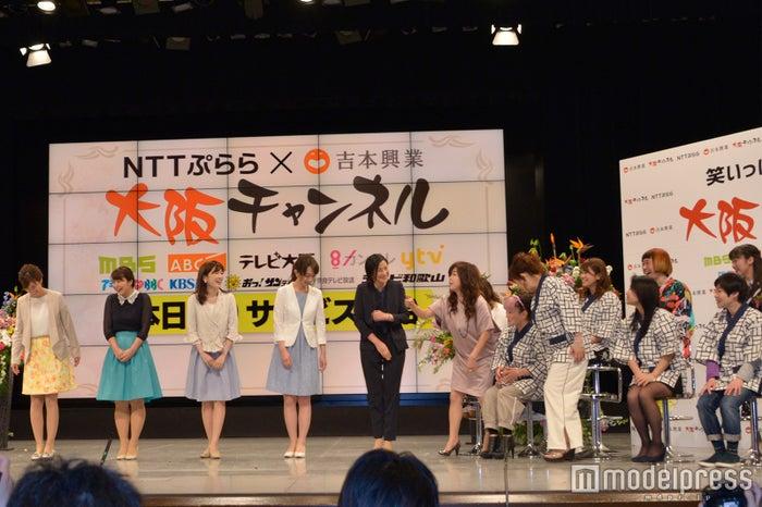 「大阪チャンネル」開始記念記者会見の様子