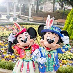ミニーマウス、ミッキーマウス/「Tip-Topイースター」で着用するコスチューム(C)Disney