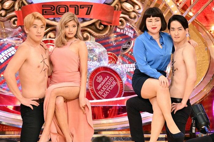 ローラ×ブルゾンちえみ with Bがコラボ (C)TBS