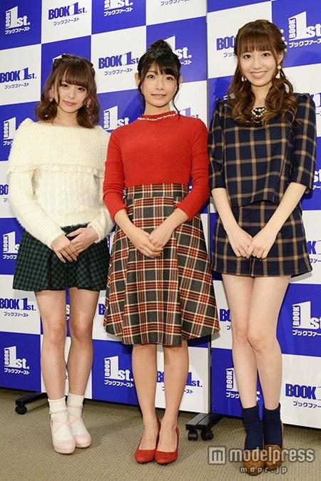 (左から)佐藤麗奈、外岡えりか、石田佳蓮