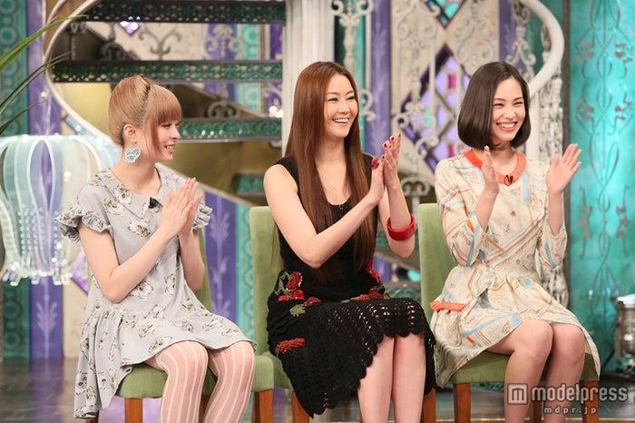 (左から)きゃりーぱみゅぱみゅ、観月ありさ、水原希子/画像提供:関西テレビ