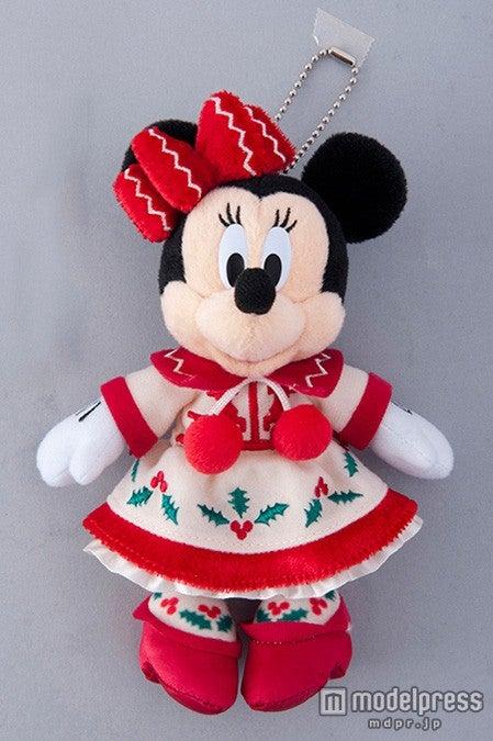 TDL:ぬいぐるみバッジ(¥1600)/ミニー(C)Disney