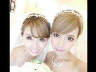 """吉川ちえ&ちか、バリで""""双子ウエディング"""" 純白のそっくり2ショット「夢が叶った」"""