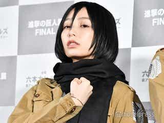 宇垣美里「進撃の巨人」ミカサのコスプレでパフォーマンス