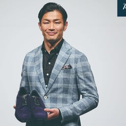 元ラグビー日本代表主将・廣瀬俊朗氏、ビジネスシューズの魅力を熱弁