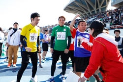 「パラ駅伝 in TOKYO 2019」/提供:日本財団パラリンピックサポートセンター