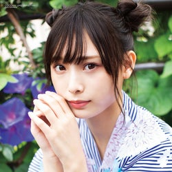 NMB48梅山恋和、可愛さ全開の浴衣デート