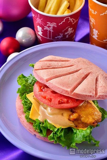 TDS「セバスチャンのカリプソキッチン」スペシャルセット(¥990)、スーベニアランチケース付き(¥1820)(C)Disney