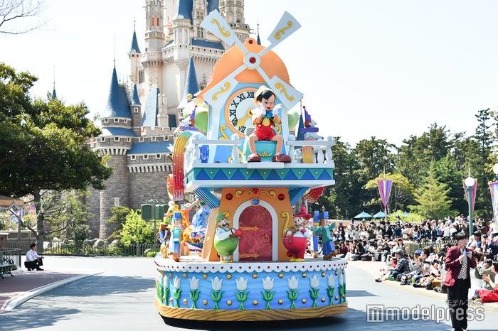 ピノキオ/パレード「ドリーミング・アップ!」(C)モデルプレス(C)Disney