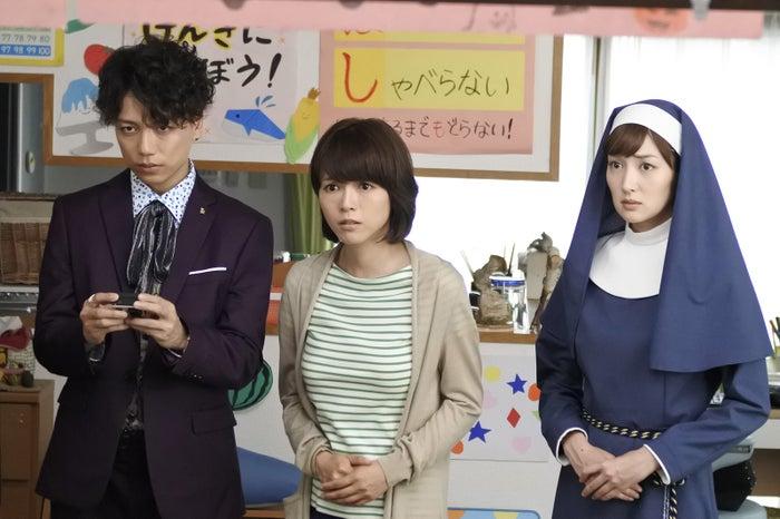 山崎育三郎、釈由美子、高梨臨(画像提供:テレビ朝日)