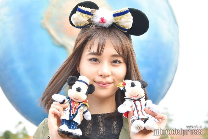 ぬいぐるみバッジ各¥1,800※カチューシャは別売り/モデル:山本成美(C)モデルプレス(C)Disney
